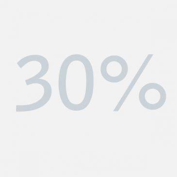 Bespaar 30% op energiekosten